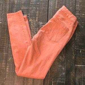 Jessica Simpson Peach Skinny Leg Jeans